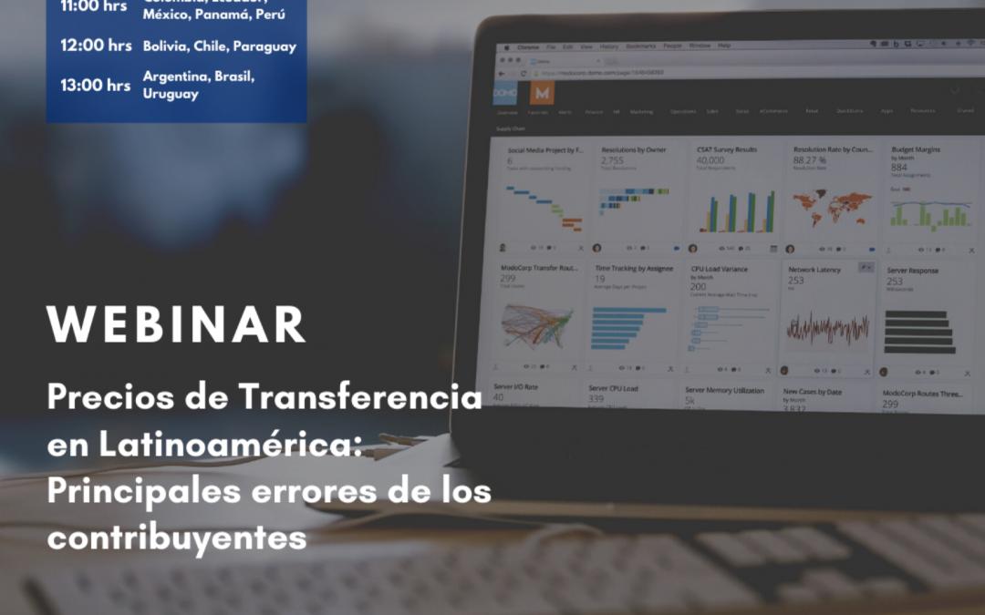 Precios de Transferencia en Latinoamérica: Principales errores de los contribuyentes