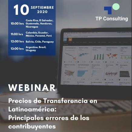 10-Sep | Precios de Transferencia en Latinoamérica: Principales errores de los contribuyentes