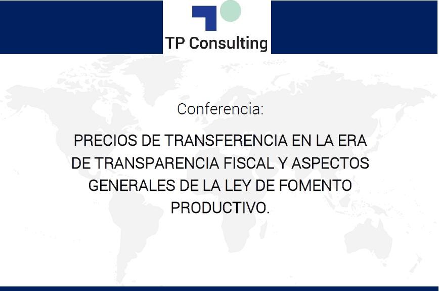 30/Agost/2018. Quito – Ecuador: «Precios de Transferencia en la era de transparencia fiscal y aspectos generales de la ley de fomento productivo». Por Enríquez Díaz, Karilin Arenas, Rodrigo Garcés y Karina Becerra (Socios).