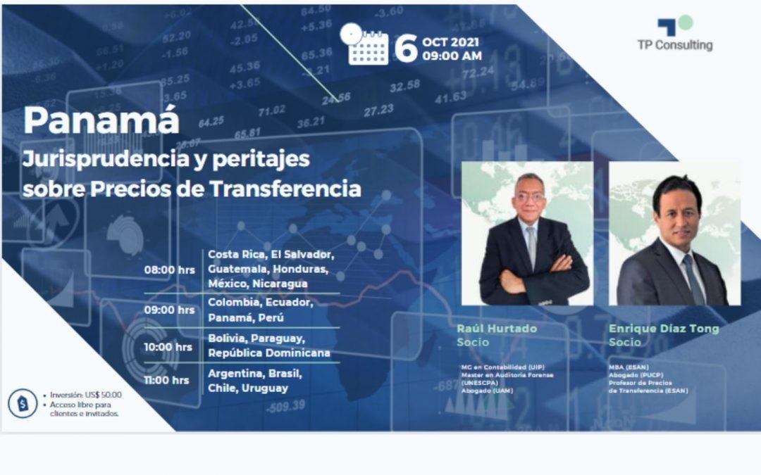 06-Oct-21 | PANAMÁ | Jurisprudencia y peritajes sobre Precios de Transferencia