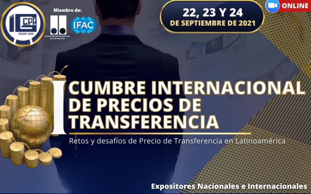 IGCPA | I Cumbre Internacional de Precios de Transferencia – Retos y desafíos de Precios de Transferencia en Latinoamérica