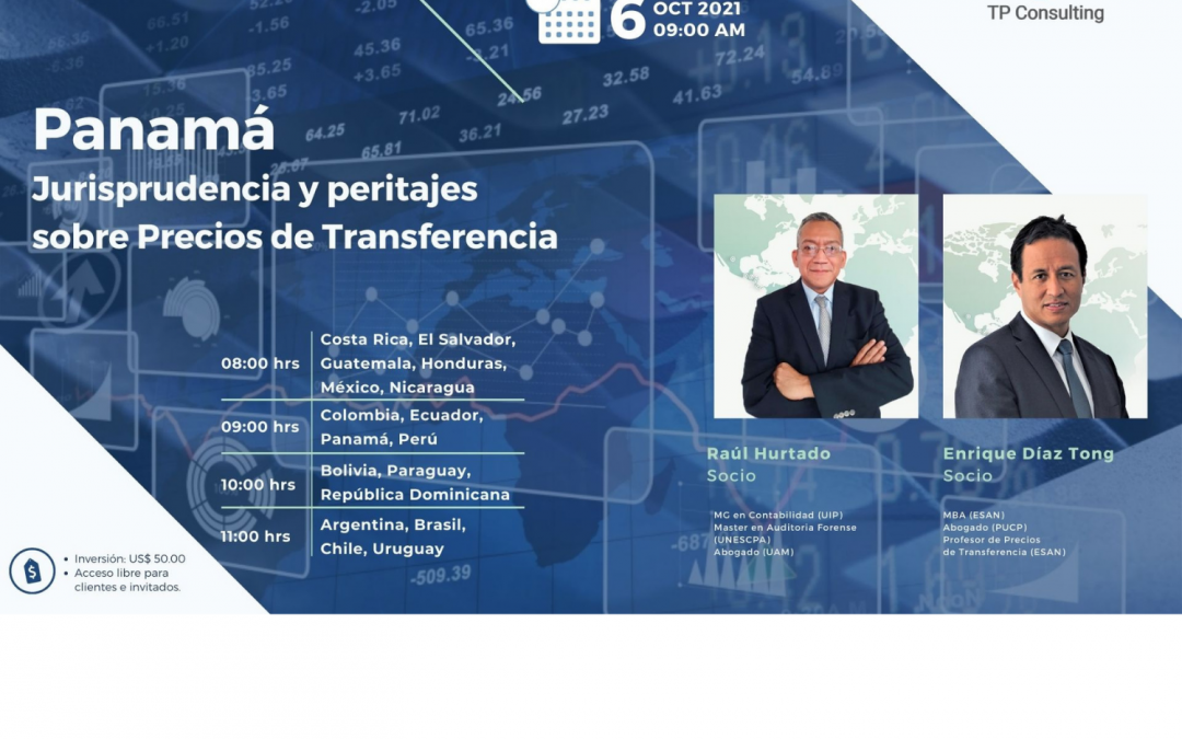 06-Oct-21 | PANAMA | Jurisprudence and expert opinions on Transfer Pricing